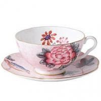 Quality Tea Cup and Saucer (Pink Flower) for sale
