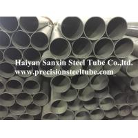 Quality Carbon Cold Drawn Welded Precision Steel Pipe Round Shape Max 12m Length for sale