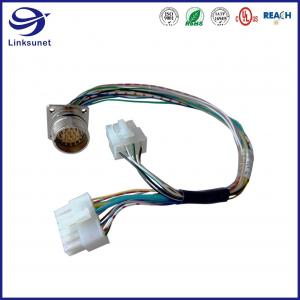 Quality High Flexibility custom wire harness with EPIC Circon M23 Circular Connector for sale