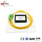 Quality 4 Way Passive Fiber Optic Splitter Module Full Operating Wavelength for sale