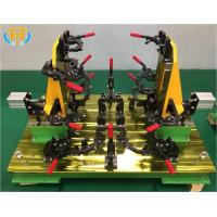 Quality Customized Welding Jig Fixture For Tractor Engine Cover Stamping Component for sale