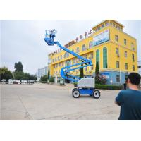 Quality Mobile Self Propelled Boom Lift Rough Terrain User Friendly Ergonomic for sale