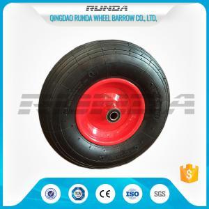 China Line Pattern Heavy Duty Dolly Wheels16 Inch Centered Hub 150kg Loading Capacity on sale