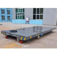 Quality Steel Box Beam Structure VFD Devices Electric Flat Car for sale