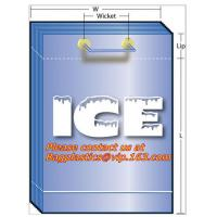Quality Ice bags, wine carriers, juice, beverage bags, wine gift, portable, party bags, icebags for sale