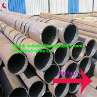 China 16'' ERW ASTM steel pipes on sale