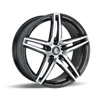 18x8J Flow Form Black Alloy Wheels for Mercedes and BMW Light Weight