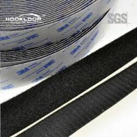 Quality Colored 3M Self Adhesive Hook And Loop Tape For Curtain / Clothing for sale