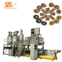 Quality 2 Screw Dog Food Pellet Making Machine 150-5000 Kg/h Capacity Schneider Inverter for sale