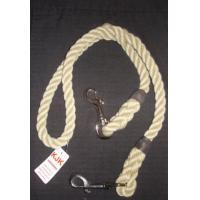 Quality Twist Rope dog leashes with printed logo for outside XS S M for sale