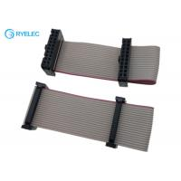Buy cheap 2*10pin IDC To 20pin Idc2.54 Pitch Female Flat Flex Ribbon Cable With Machine from wholesalers