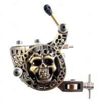 Quality 10 wrap Coils Permanent compact empaistic tattoo machine with SS Tubes for sale