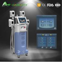 Quality 4 handles Vertical 2000W Cryolipolysis cold body sculpting machine for sale