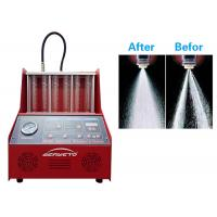 Quality Stp Petrol Ultrasonic Injector Cleaner Machine Strong Testing 27kg Weight for sale