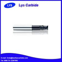 Quality PM-2EFP 2-flute flattened end mills with straight shank with long neck and short cutting edge for sale