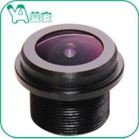 Quality 190° Wide Angle Board  / Dome Camera Lens 1.5mm F2.4 Aperture 5Mp M12 Mount for sale