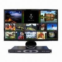 China 8-channel standard-definition digital video/audio multiviewer with dual power supply  on sale