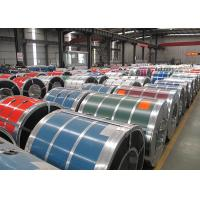 Quality Prepainted Gi Colour Coated Coil , Automobile Hot Dipped Color Coated Coil for sale