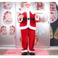 Quality Electric Christmas old man music Santa Claus 160cm Outdoor Christmas Decoration for sale