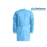 Quality Unimax Medical PP SMS Disposable Surgical Gowns for sale