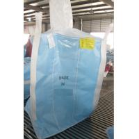 Quality TYPE D Conductive Blue PP Jumbo Bags Anti - Sift Anti Static Bulk Bags For Chemical Powders for sale