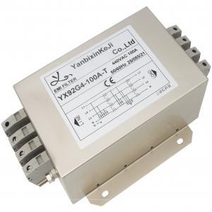 Quality 3 Phase EMC EMI 440V AC Line Noise Filter For Inverter Converter for sale
