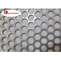 Quality Beauty Round Hole Shape Perforated Metal Mesh Galvanized 5-10mm Diameter for sale