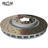 Quality Car Accessories 213484 Front Brake Dsic For Ferrari F430 for sale