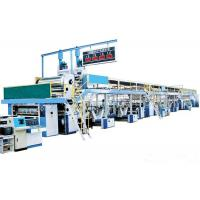 Quality 60M Long Corrugated Cardboard Production Line , 3 Ply Corrugated Box Making Machine for sale