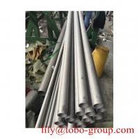 Quality ASTM 201 202 304 316L 310S 2205 ERW welded polished seamless pipe for sale