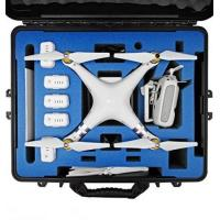 Quality DJI Phantom 3 Carrying Case. Military Spec Waterproof and Airtight Hard Case Fits Quadcopter and GoPro Accessories Custo for sale
