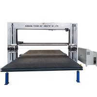 Quality Horizontal And Vertical PU Foam Cutting Machine Automatic Oscillating Dual Blade for sale