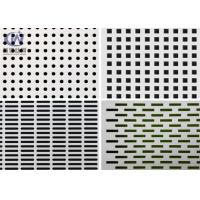 China Openning Mild Steel Filter Mesh Perforated Metal Plate / Punched Hole Metal Sheet on sale