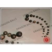 Quality Low Breakage Ball Mill Balls 40mm 60mm 80mm +-1mm / +-2mm Tolerance for sale