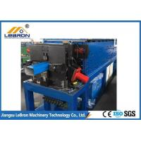 China Full Automatic Metal Half Round Gutter Machine Durable Servo Guiding Device on sale