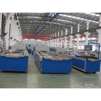 China 600-1250mm Width WPC Board Production Line With Laminating Machine on sale
