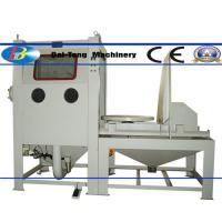 Quality Suction Type Manual Dry Sandblast Cabinet 1200*1200*750mm Working Chamber Size for sale