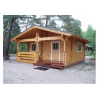 China Light Weight Outdoor Wooden House Waterproof For Beach With 650*580cm Size on sale