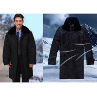 Quality Winter Dark Color Security Guard Uniform Wind Resistant With Two Pieces Set for sale