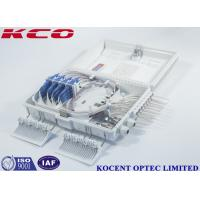 Buy cheap 16core Outdoor Fiber Optic Distriution Box KCO-ODP-16W For 2*16 1*16 PLC Splitter ABS+PC from wholesalers