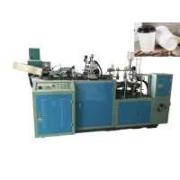Quality 50pcs/Min 170gsm 50oz Hollow Paper Cup Sleeve Machine for sale