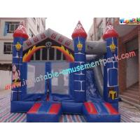 Quality Waterproof Commercial Inflatable Bouncer Slide For Kids With PVC Tarpaulin for sale