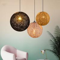 Quality Nordic Global Cottan Pendant Hanging Lights For Bar Restaurant Dining room Table Pendant lamp (WH-WP-12) for sale