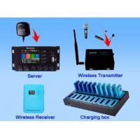 Quality 2.4 G digital Wireless GPS Multilingual tour commentary system for sale