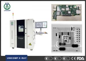 Quality 110kV 5um Microfocus X Ray Machine with high resolution FPD AX8500 For PCBA BGA void Inspection for sale