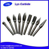 Quality High quality carbide Rotary Burrs,Tungsten Carbide Burrs For Grinding Metal for sale