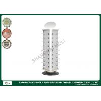 Quality Revolving counter small glasses display rack with mirror in shop supermarket for sale
