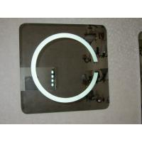 Buy cheap Round shape LED lighted mirror with touch switch and lock optionable from wholesalers