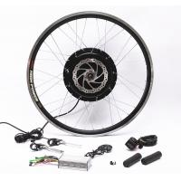 Quality Front Rear Wheel Electric Bike Conversion Kit With PAS Twist Or Thumb Throttle for sale