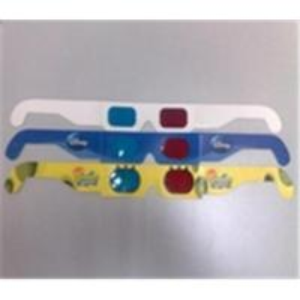 China Paper 3D glasses, 3D movie glasses, 3D promotional glasses on sale